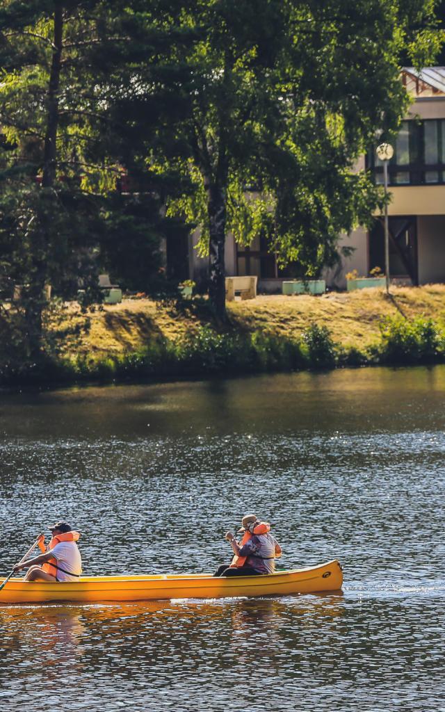 Canoe Lac Egletons (1)