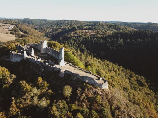Le château de Ventadour - Moustier-Ventadour