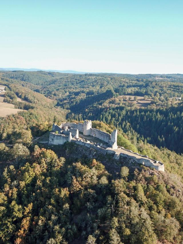 Château de Ventadour- Moustier-Ventadour
