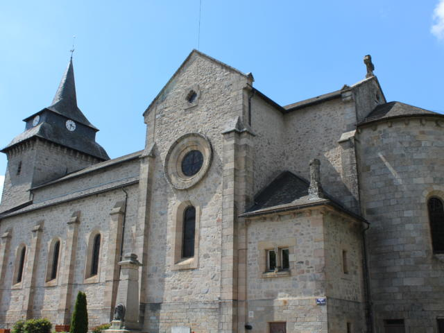 Eglise Saint Antoine L'ermite - Egletons
