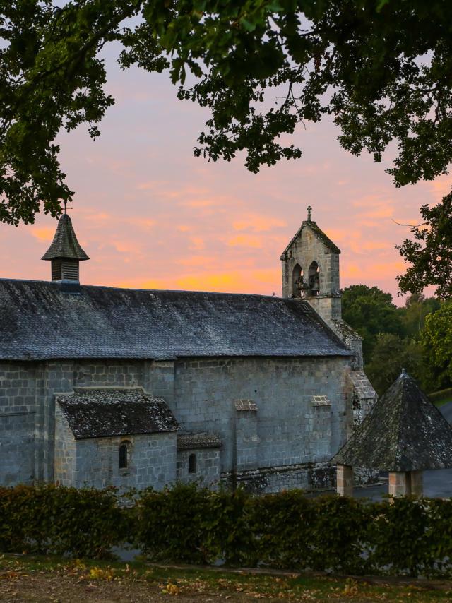 L'église de Darnets