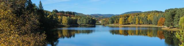 Le lac du deiro à Egletons