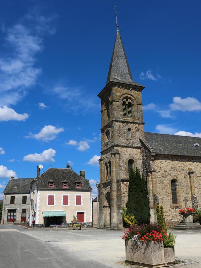L'église de Lapleau
