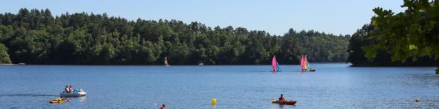 Le lac de la Valette - Marcillac-la-Croisille
