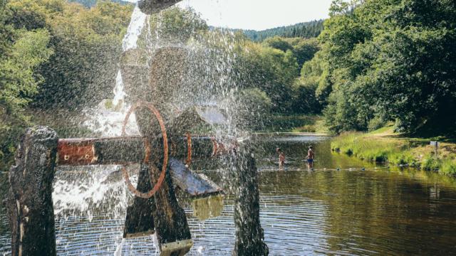 Moulin de l'étang de Maurianges