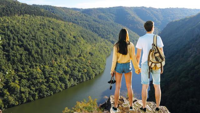 Vue sur les Gorges de la Dordogne