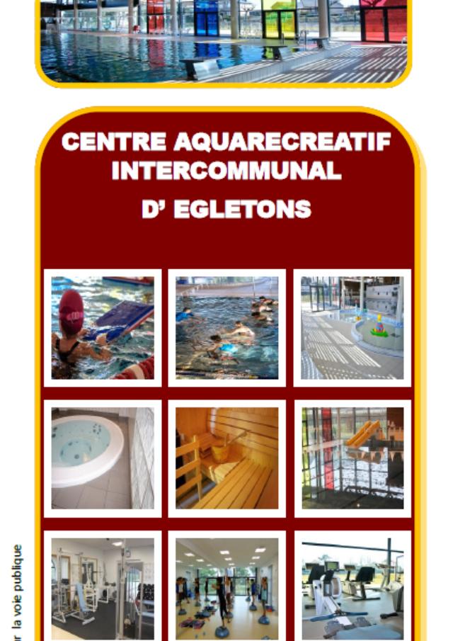 Centre aquarécréatif