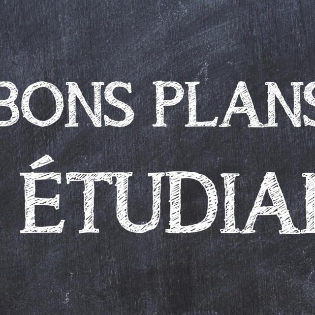 Les Bons Plans De La Vie étudiante