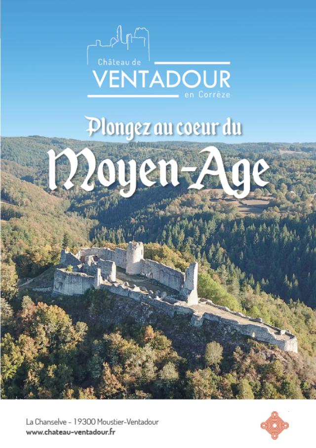 Couverture Brochure Chateau de Ventadour