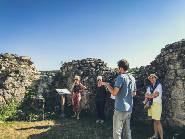 Visite Guidee Chateau Ventadour