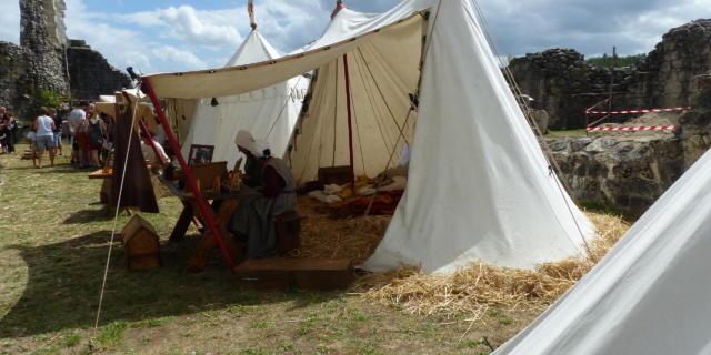 Camp Médiéval 2019 - Château de Ventadour